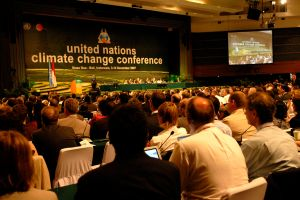 Global Warming conference in Bali