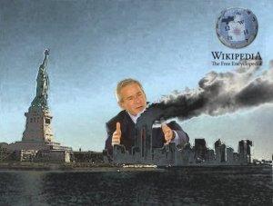 Bias on the Internet: Bush, 9/11, CIA and Wikipedia