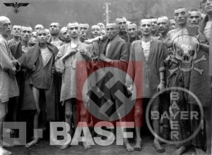 Modern Medicine: prisoners at concentration camp funded by Bayer and BASF pharmaceutical companies