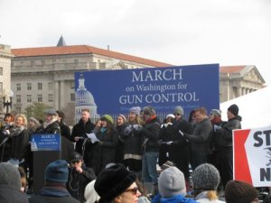 Outlawing Guns and Drugs: March on Washington